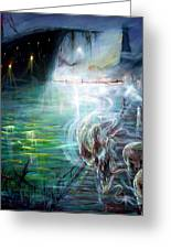 Ghost Ship 2 Greeting Card