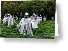 Ghost Soldiers Greeting Card
