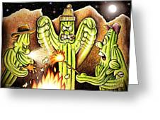 Ghost Story Greeting Card