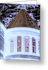 Ghostly Heights Manor Greeting Card