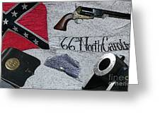 Ghosts Of The Confederacy Greeting Card