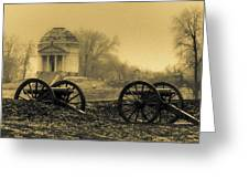 Ghosts Of Vicksburg Greeting Card