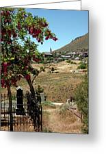 Ghosts Path To A Ghost Town Virginia City Nv Greeting Card