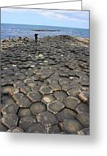 Giant Causeway Northern Ireland Greeting Card