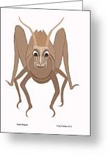 Giant Hopper Greeting Card