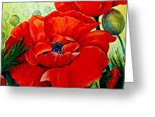 Giant Poppies 3 Greeting Card