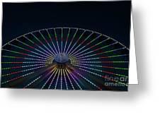 Giant Wheel Ferris Wheel Greeting Card