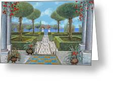 Giardino Italiano Greeting Card