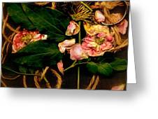 Giardino Romantico Greeting Card