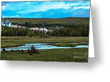 Gibbon River Valley Greeting Card
