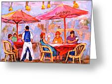 Gibbys Cafe Greeting Card