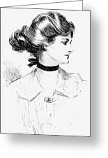Gibson: Gibson Girl, 1905 Greeting Card