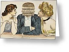 Gibson Girls, 1903 Greeting Card