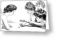 Gibson Girls 1904 Greeting Card