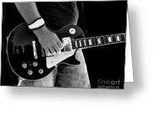 Gibson Les Paul Guitar  Greeting Card