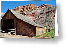 Gifford Homestead Capitol Reef National Park Greeting Card