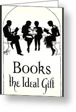 Gift Books 1920 Greeting Card
