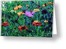 Gift Of Flowers Greeting Card