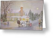 Gifts On Christmas Eve Greeting Card