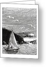 Gig Harbor Sailing School Greeting Card