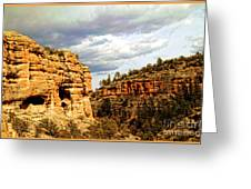Gila Cliff Dwellings National Monument Greeting Card