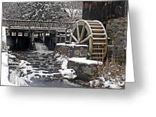 Gilbert Stuart Water Wheel Greeting Card