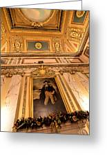 Gilded Ceiling Greeting Card