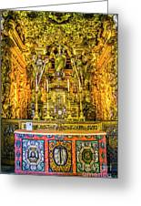 Gilded Chapel Greeting Card