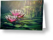 Gilding The Lily Greeting Card
