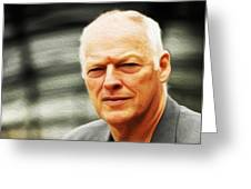 Gilmour #103 By Nixo Greeting Card