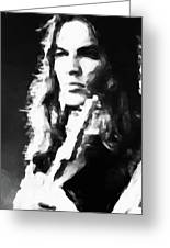 Gilmour #343 By Nixo Greeting Card