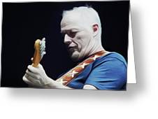 Gilmour By Nixo Greeting Card