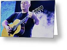 Gilmour Guitar By Nixo Greeting Card