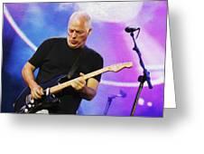 Gilmour Maroon Nixo Greeting Card