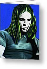 Gilmour Neon Nixo Greeting Card