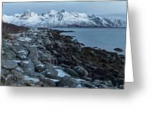 Gimsoy, Lofoten - Norway Greeting Card