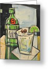 Gin Gimlet Greeting Card
