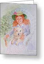 Ginger Greeting Card