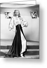 Ginger Rogers (1911-1995) Greeting Card