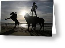 Horseback Riding Greeting Card