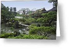 Ginkaku-ji Zen Temple No. 1 - Kyoto Japan Greeting Card