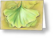 Ginkgo On The Cusp Of Autumn Greeting Card