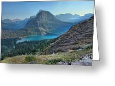 Ginnell Glacier Lake Greeting Card