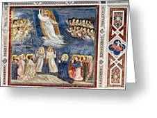 Giotto: Ascension Greeting Card