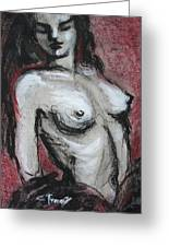 Gipsy Fire - Nudes Gallery Greeting Card