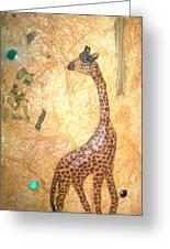 Giraffe   Sold  Greeting Card