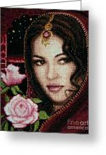 Girl From Alhambra Greeting Card