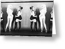 Girls On The Wall Greeting Card