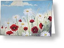 Give Me A Daisy Greeting Card