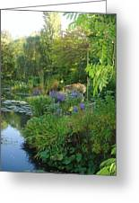 Giverny Vi Greeting Card